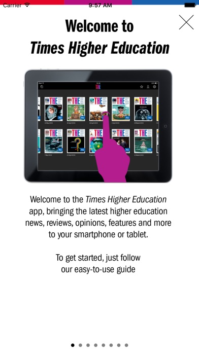 Times Higher Education Magazine (the) review screenshots