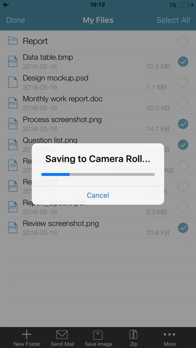 WinZip Pro: zip, unzip & rar Screenshots