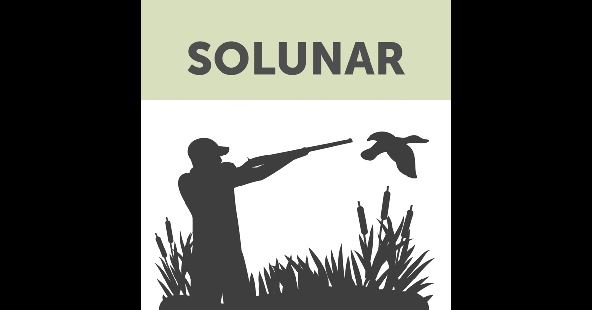 Solunar hunting fishing times on the app store for Solunar fishing charts