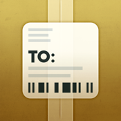 Delivery Status touch, a package tracker icon