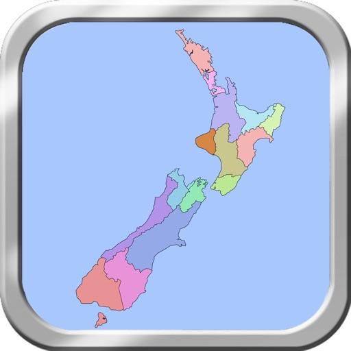 New Zealand Puzzle Map iOS App