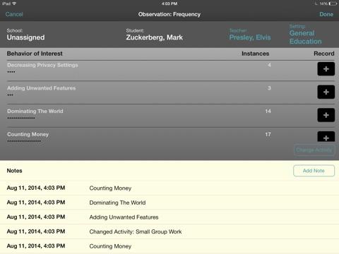 BehaviorSnap screenshot 2