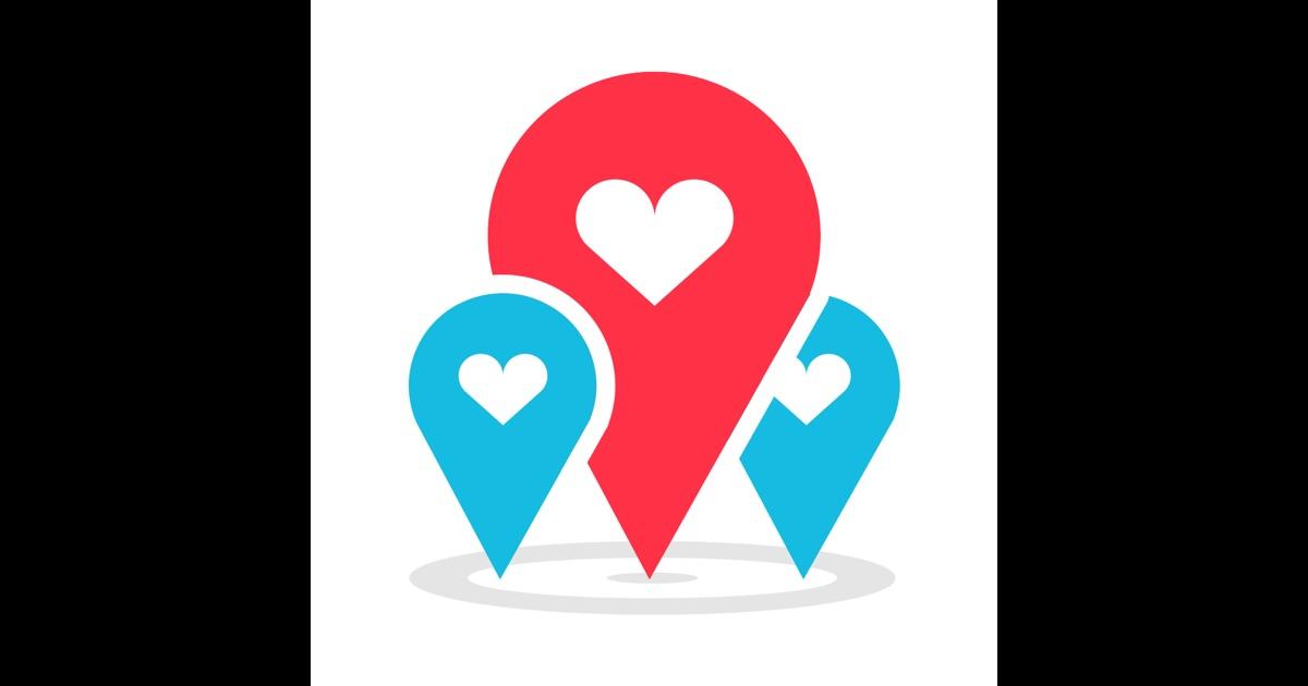 Геолокационное приложение для знакомств