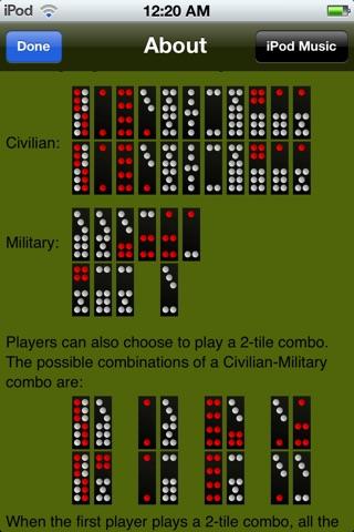 Chinese Domino screenshot 3