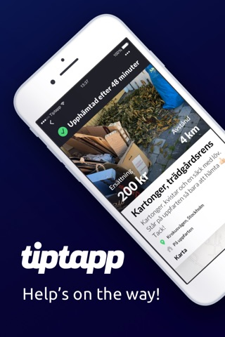 Tiptapp screenshot 1