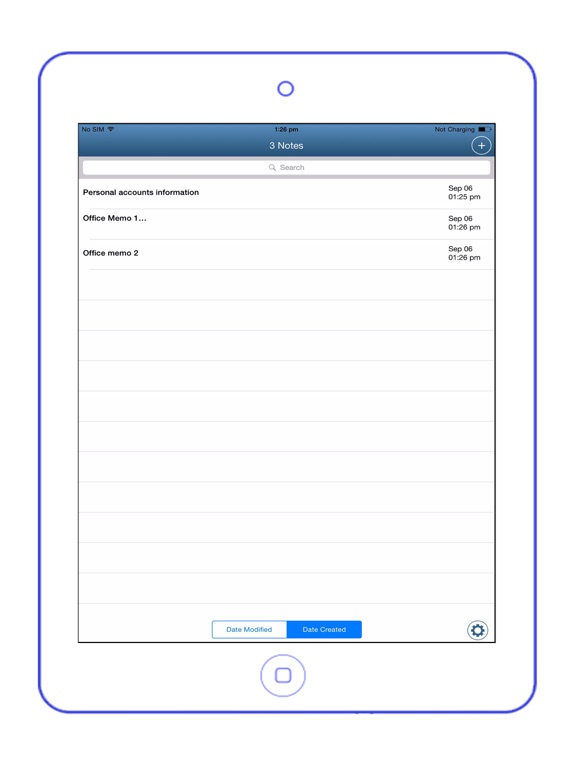 Easy Notes Locker Pro - Password Protected Notepad Screenshot