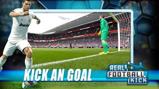 реальный футбол окончательный удар Screenshot