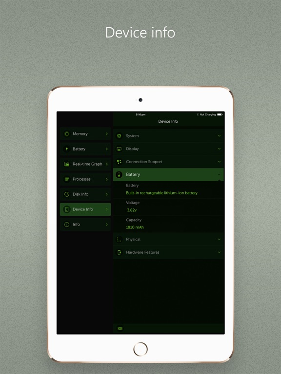 Screenshot #4 for Battery Max - With System Monitor Add-on