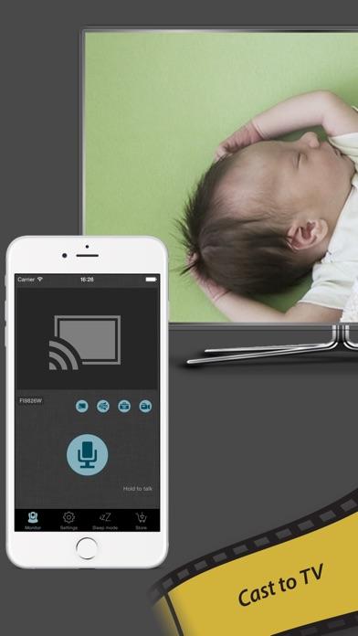 baby monitor for ip camera amcrest foscam etc app voor iphone ipad en ipod touch appwereld. Black Bedroom Furniture Sets. Home Design Ideas