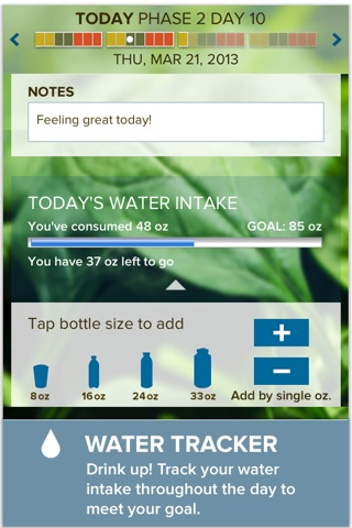 The Fast Metabolism Diet– customized meal planning screenshot 4