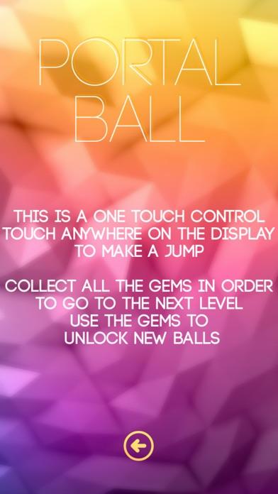 Portal Ball HD Screenshot