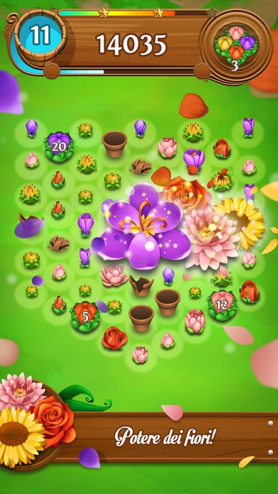 Screenshot of Blossom Blast Saga3
