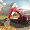 Sand Excavator Crane Simulator 3D - Be a Crane Operator & Drive loader Truck From Quarry To Construction Site