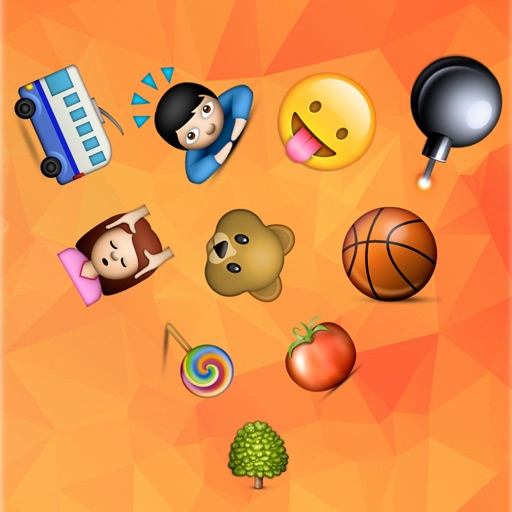 Emoji Game-Find the emoji which do not move iOS App