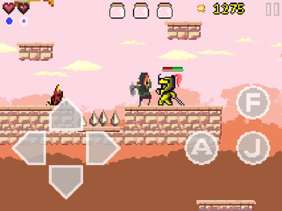Goku to hell - Pixel style side-scroller game Screenshot
