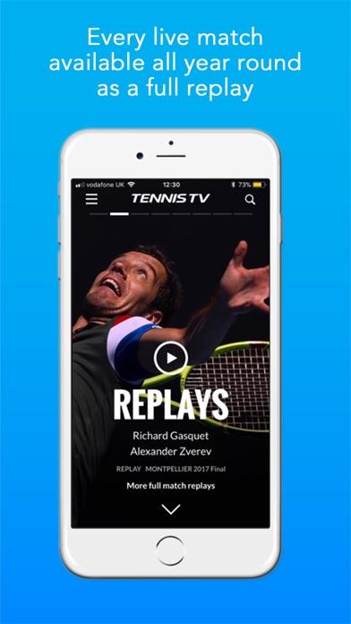Tennis TV - Live Streamingスクリーンショット
