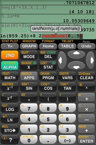 GraphNCalc83 screenshot 1