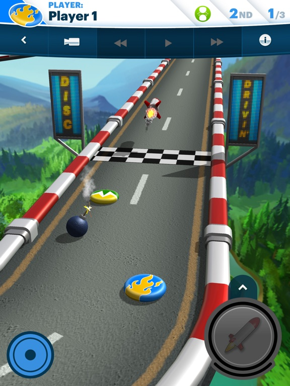 Screenshot 1 Disc Drivin