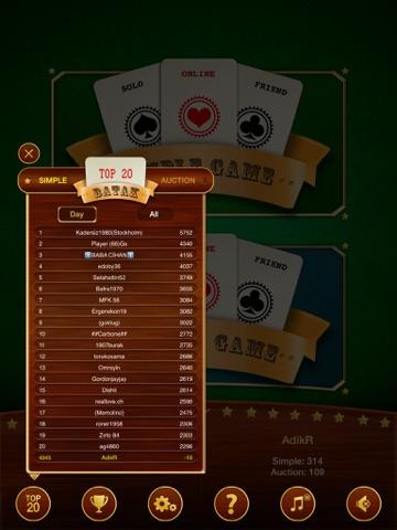 Скачать игру Batak - карточная игра