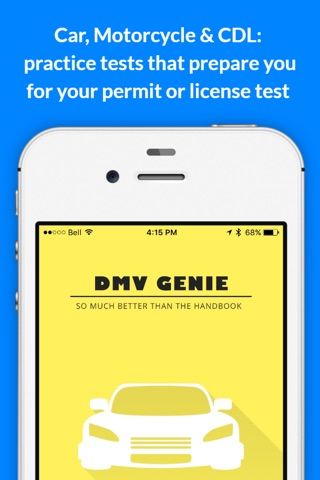 DMV Genie Permit Practice Test screenshot 1