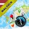 バルト諸国:エストニア、ラトビア、リトアニア - オフライン地図&GPSナビゲータ