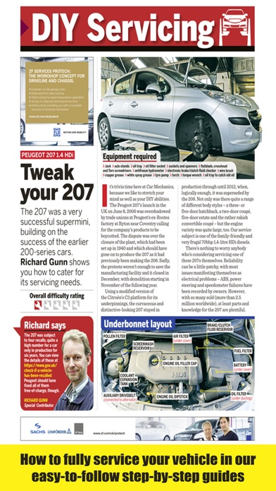 Car Mechanics Magazine review screenshots