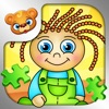 123 Kids Fun PUZZLE GREEN Free - Top Educational Alphabet, Shape, Animal Jigsaw Puzzle Games for Smart Toddlers and Preschoolers