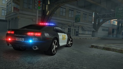 Screenshot of Police Car Parking Simulator Game1
