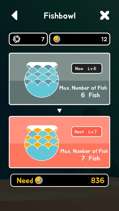 HelloFish: Let's grow 41 Coin Fishes Screenshot