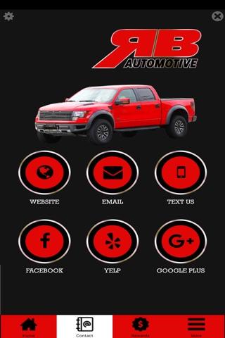 RB Automotive screenshot 2