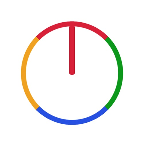 Crazy Color Wheel Icon