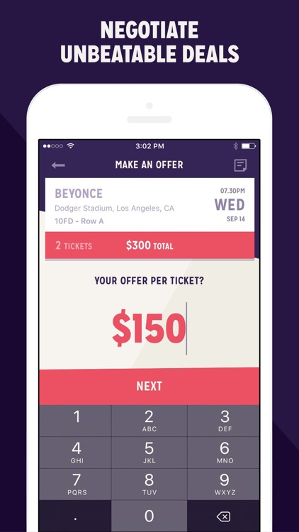 Make An Offer App >> Contender Make Offers And Save On Event Tickets By Contender Inc