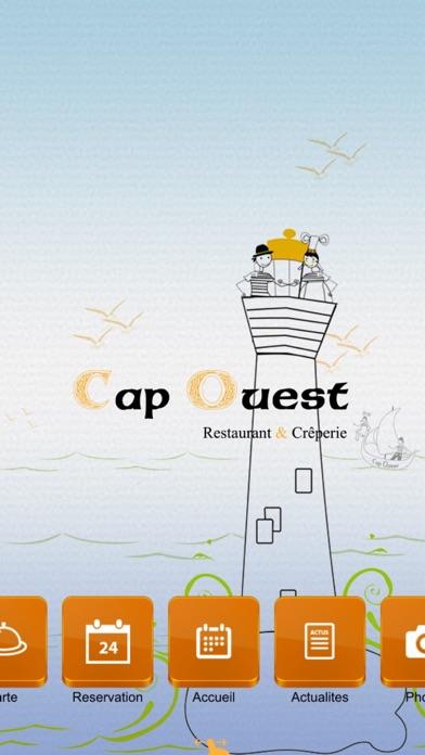 Cap Ouest Restaurant - CrêperieCapture d'écran de 1