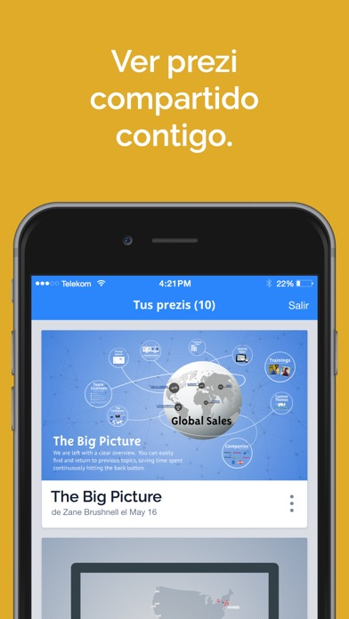 download Prezi Viewer apps 3