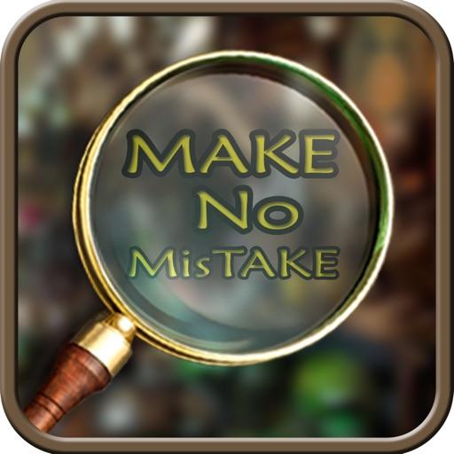 Hidden Object Make no Mistake iOS App