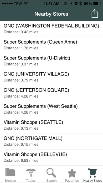 Supplements Guide Screenshots