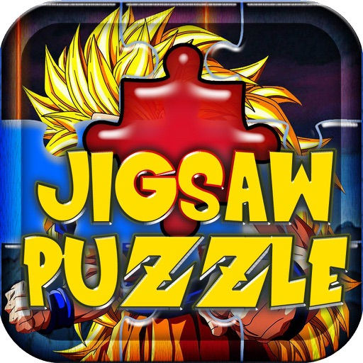 Jigsaw Puzzles for Kids: Dragon Ball Z Edition iOS App