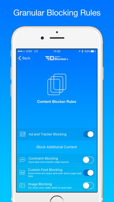 Content Blocker+ Screenshot