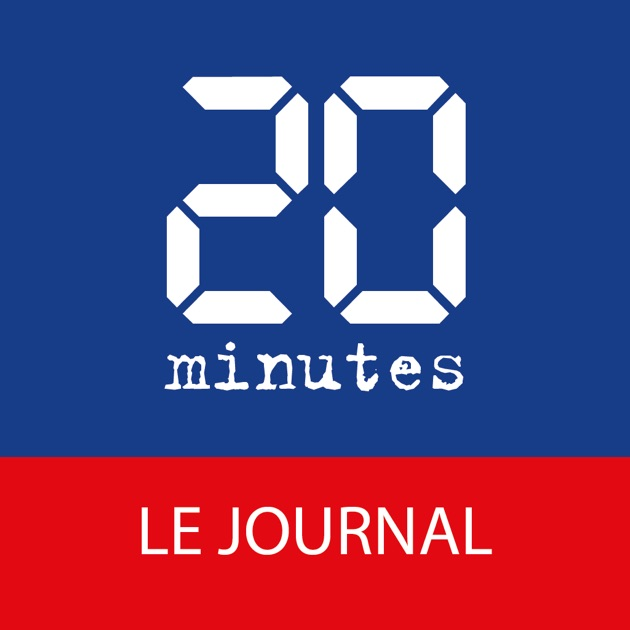 """20 Minutes – le journal"" im App Store"