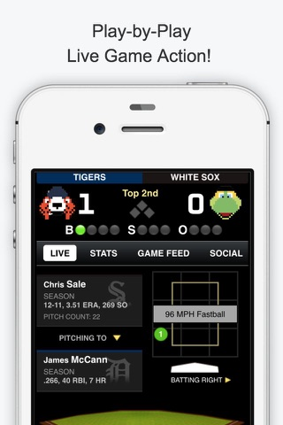 GameDay Pro Baseball Radio - Live Playoff Games, Scores, Highlights, News, Stats, and Schedules screenshot 2
