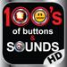 100 de los Botones y Sonidos Ringtones Último HD