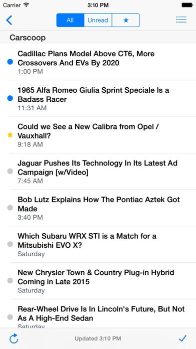 Feeddler RSS Reader P... screenshot1