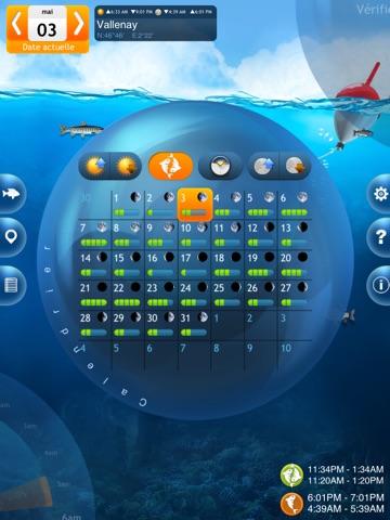 Screenshot #6 pour Pêche Deluxe – Calendrier et Meilleures Heures de Pêche