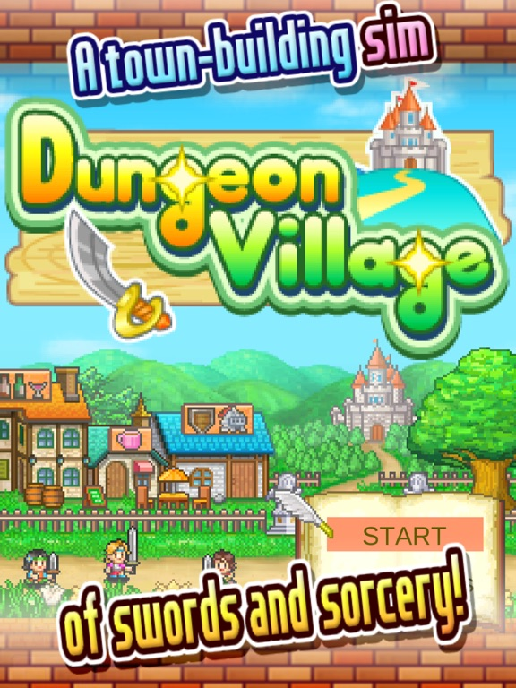 Игра Dungeon Village