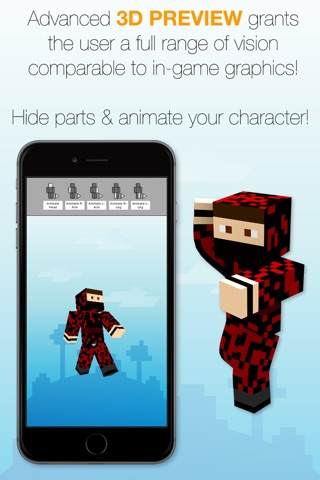 Best Skins Creator Pro - for Minecraft PE & PC screenshot 4