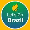 Let's Go Brazil - Support Brazil Game 2016 people of brazil