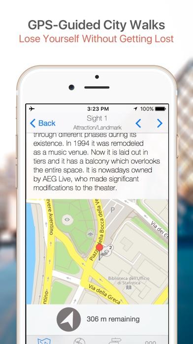 Las Vegas Map And Walks On The App Store - Las vegas walking map