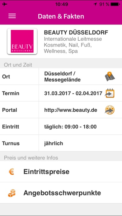 Screenshot von BEAUTY DÜSSELDORF1