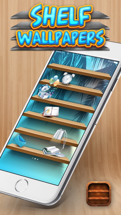 Shelf Home Screen Designer