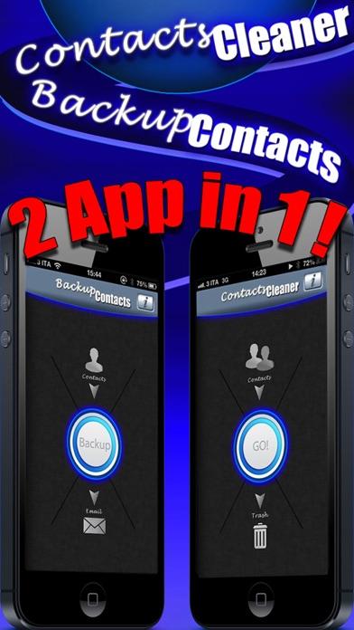 Backup Contacts Pro screenshot1